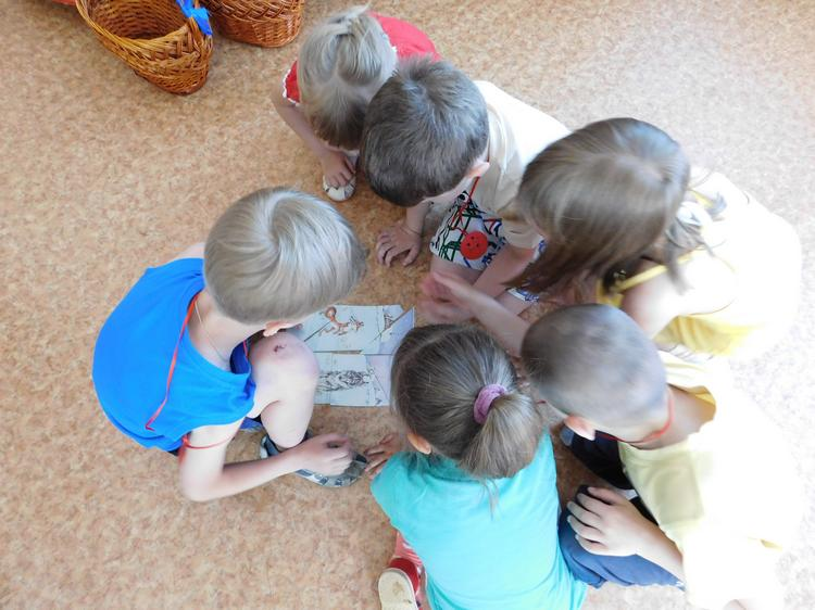 Игра — викторина в детском саду Чебурашка