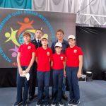 Команда Кораблинской СШ №2 приняла участие в Межгосударственном слете юных инспекторов движения