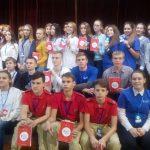 Волонтеры школы имени Сарычева приняли участие в межмуниципальном семинаре