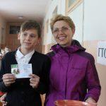 Обучающимся школы имени Героя РФ И.В. Сарычева  вручены знаки отличия ГТО