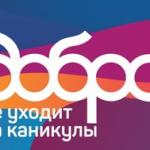 Всероссийский конкурс для добровольческих отрядов «Добро не уходит на каникулы»